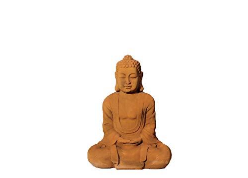Lüllmann XL Buddha Figur 58cm Skulptur Steinoptik Indoor-Outdoor Buddha 406178