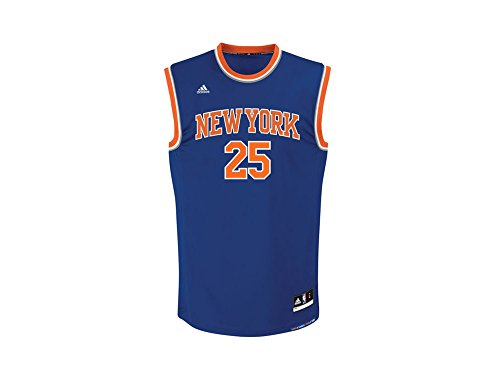 adidas INT Replica Jrsy Camiseta de Baloncesto New York Knicks, Hombre, Azul, XS