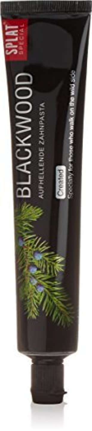 シャワー体細胞継続中Splat Blackwood Whitening Toothpaste by Splat