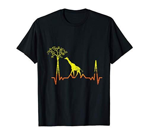 Animale Carino Signore Dello Zoo Safari Giraffa Maglietta