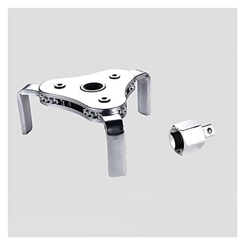 Xianggujie F Llave de Filtro de Aceite automático Herramientas de reparación de automóviles 3 Jaw Llavero de Filtro de Aceite del Motor de la mandíbula 2 (Size : A)