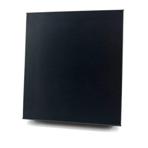 【C654】Ophone タバコケース レギュラー迄20本 ブラック/黒 光沢 軽いアルミ製 携帯 準防水 [並行輸入品]