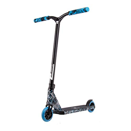 Root Industries Type-R Scooter | Black-Blue-White Splatter