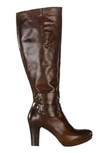 Zinda Hochwertiger Stiefel aus Nappaleder Cognac Gr. 36