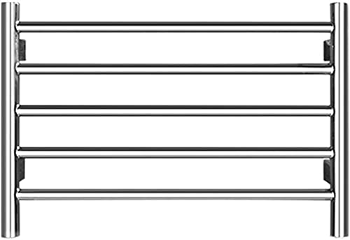 WNN-URG Calentadores de Toallas Acero Inoxidable de Acero Inoxidable eléctrico, 400 * 600 mm Casa de baño de Cinco Barras Rankel Rack Ranior, Usado para Ropa y Toallas más cálidas URG