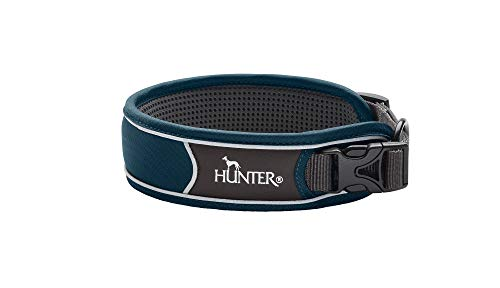 HUNTER 4016739676160 Dark Blue Collar 35-45cm Divo, Dunkelblau