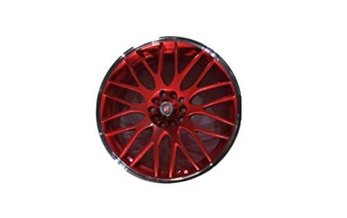 Golbalaccessories - Llantas de aleación Yazmine de color rojo y polaco de 17 pulgadas x 7,0, 5 x 100 y 5 x 110 ET40