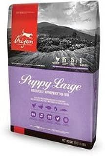Orijen 25 LB Large Breed Puppy Dry Dog Food Formula. (Fresh Free-Run Chicken and Turkey, Wild-Caught Fish and NEST-Laid Eggs)