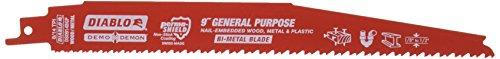 Freud DS0914BGP5 9-Inch x 8-14T Demo Demon Diablo Reciprocating Blade, 5-Pack, Red