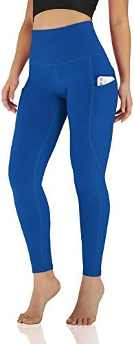 ODODOS Women s High Waisted Yoga Pants with Pocket Workout Sports Running Athletic Pants with product image