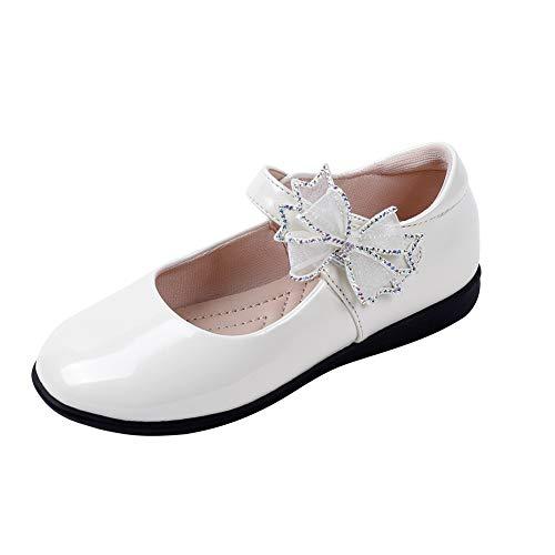 N/P Joeupin Zapatos de vestir para niñas con correa para uniforme escolar,...