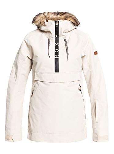 Roxy Shelter - Snow Jacket for Women - Schneejacke - Frauen - S - Beige
