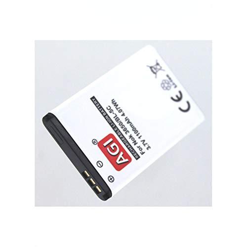 Akkuversum Akku kompatibel mit Tiptel Ergophone 6070, Handy/Smartphone Li-Ion Batterie