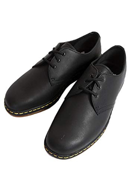 [ドクターマーチン] メンズ 3ホール レザー シューズ CAVENDISH キャベンディッシュ 本革 革靴 外羽根 オックスフォード 21859001 BLACK TEMPERLEY