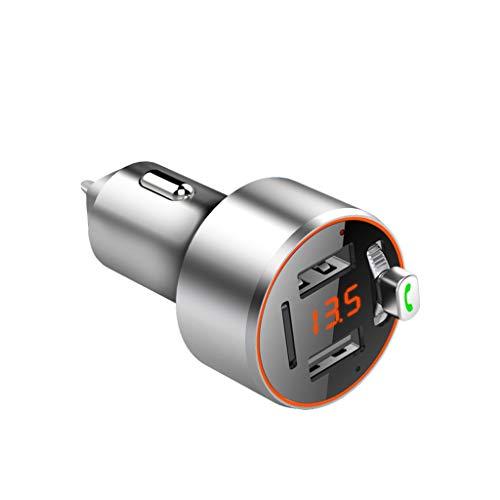 Cargadores de Coche LED De Detección De Voltaje Cargador De Coche Adaptador De Cargador De Coche USB Tipo-C PD 3.1A 12-24V Universal QC3.0 Teléfono Móvil De Carga Rápida Negro Cargadores de Coche