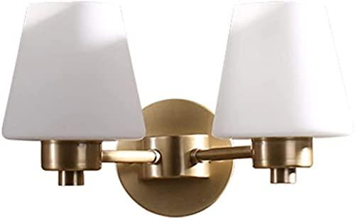 Applique da parete Lampada da parete, tutto in rame Semplice lampada da parete per soggiorno Lampada da parete per camera da letto con letto matrimoniale Semplice scale di campagna Luci del corridoio