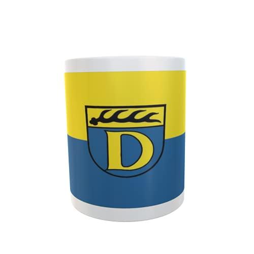U24 Tasse Kaffeebecher Mug Cup Flagge Dettingen unter Teck