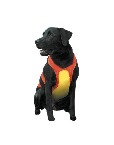 Remington Orange Large Chest Protector for Dogs, Model Number: R1900 ORGLRG