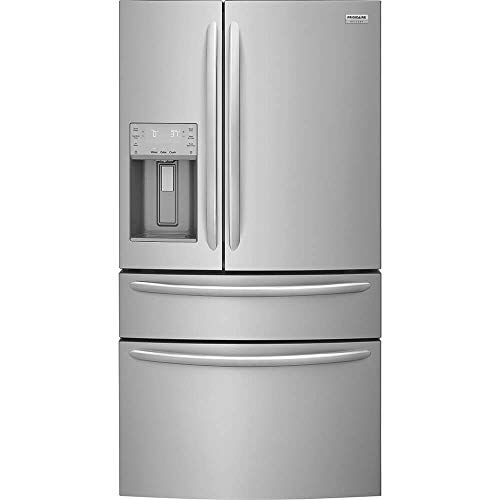 Frigidaire Gallery Black Stainless Steel Side-By-Side Counter Depth Refrigerator