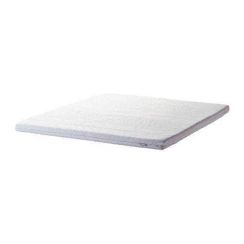 IKEA TUSSÖY Matratzenauflage in weiß; (160x200cm)