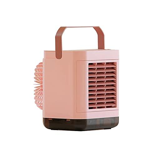 LNLYF Deumidificatore Ventola di Raffreddamento del Vento 3 Modi, Portatile, Ione Negativo raffreddato ad Acqua Aria condizionata Ventilatore Desktop Small Office Idratante Spray Air Cooler