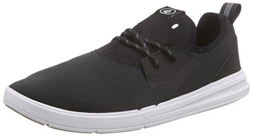 Volcom Draft Shoe, Zapatillas de Skateboarding Hombre, Negro Schwarz Black Combo BLC, 46 EU
