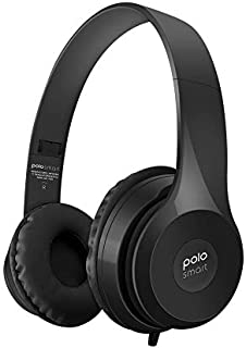 Polosmart FS26 Kablolu Kulaküstü Kulaklık, Siyah