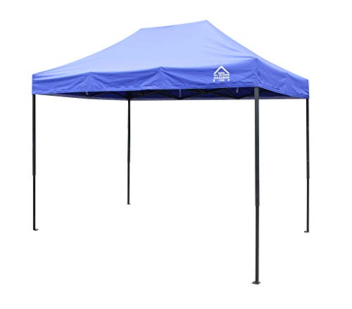 All Seasons Gazebos, 3x2m Heavy Duty Fully Waterproof, Premium Pop Up Gazebo + Carry Bag and Weights (Royal Blue)