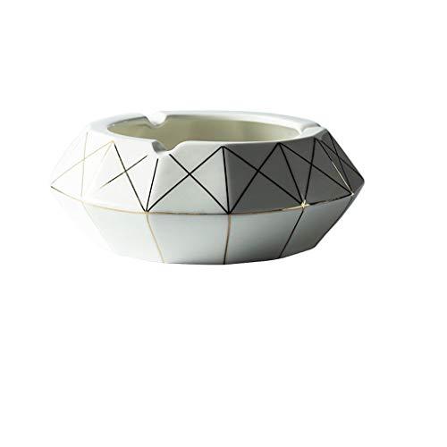 CKH keramische asbak creatieve huis creatieve persoonlijkheid woonkamer salontafel trends in Scandinavische mannen en vrouwen groot kantoor A