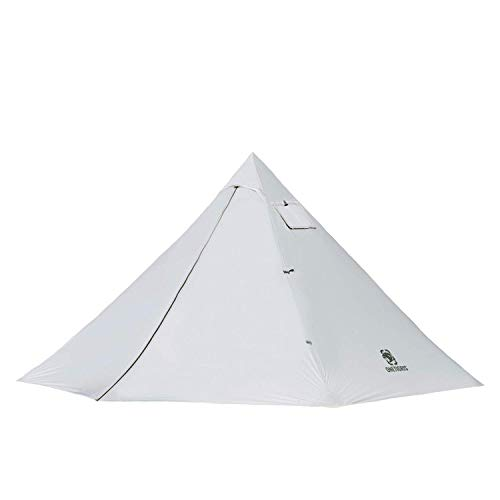 OneTigris Smokey HUT Ultralight Hot Tent, Weighs 2.6Ib, Black Orca Series