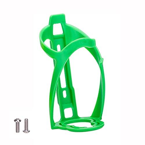 Titular de la botella de agua de la bicicleta Botella de bicicleta ligera Jaula de la jaula de alta resistencia con los tornillos para la bicicleta de carretera Accesorios para bicicletas de montaña