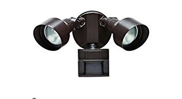 Defiant 110 Degree Motion Security Light Bronze
