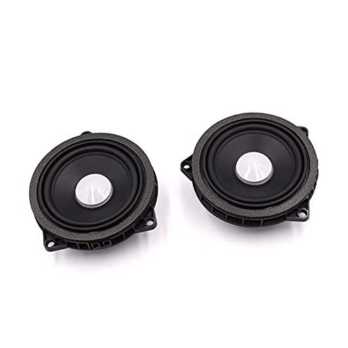 FENGFENG Sun Can 4,5 Pulgadas Coche Altavoz MidRange Ajuste para BMW F30 F25 F26 F20 Series Puerta Gama Media Altavoz Audio Sonido Música Estéreo (Color : Two Speaker)