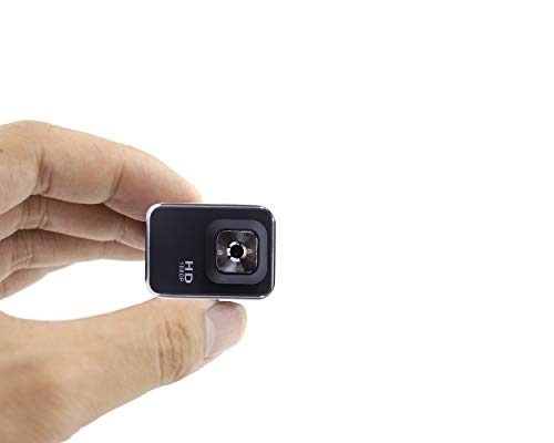 Infrared Night Vision Mini Hidden Spy Camera Full HD 1080P with 140°...