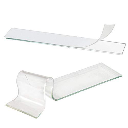 Doppelseitige Klebestrips extra stark klebend | Wiederablösbar | Für viele Materialien | Stärke & Menge wählbar | 19 x 95 mm / 1 mm Dicke, 10 Stück