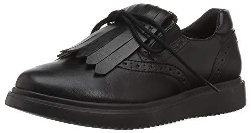 Geox Girls' Thymar 13 Shoe Oxford, Black, 32 Medium EU Little Kid (1 US)