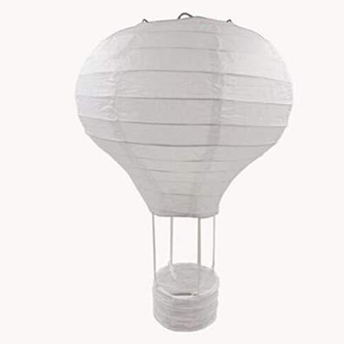 Sylvialuca 12 Zoll / 16 Zoll Regenbogen Hochzeit chinesische Papierlaterne Geburtstagsfeier Luftballon Form Laterne Fotografie Requisiten