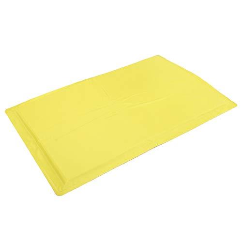 SALUTUYA Tragbare Haustierunterlage, einfache Aufbewahrung, für Sofa, Bett, Auto, Outdoor, Hundezubehör(Yellow, M)