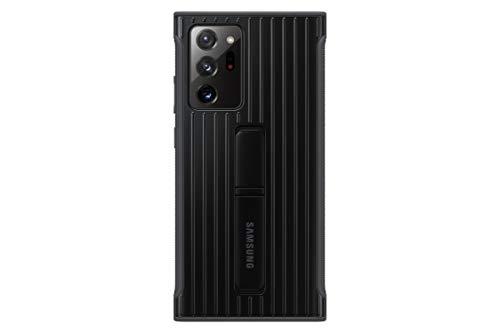 Samsung Protective Standing Smartphone Cover EF-RN985 für Galaxy Note20 Ultra 5G Handy-Hülle, Schutz, ausklappbarer Standfuß, griffige Oberfläche, schwarz