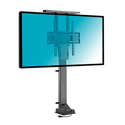 KIMEX 018-6064 Soporte de TV motorizado para televisor 37'-65' / Instalación Suelo o Techo