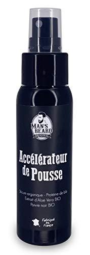 Man's beard - Accélérateur de pousse 60 ml - Favorise la pousse et densifie la barbe