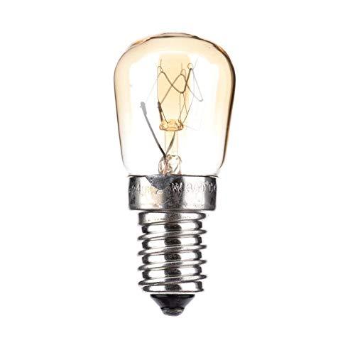 biteatey Ampoule De Four Durable E14 25w Ampoules Ampoule À Vapeur Pure, Résistance À Haute Température 300 Degrés