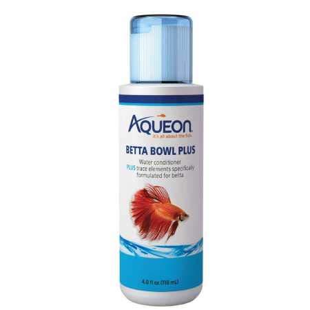 Aqueon Betta Bowl Plus Water Conditioner (4 oz)