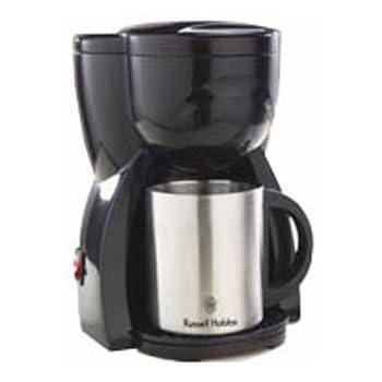 Russell Hobbs パーソナルコーヒーメーカー ダブルステンレスマグつき 10973JP