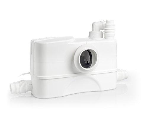 DAB PUMPS 60165318 Genix 130 Comfort-Pompa Trituratore Domestico per WC, 490 W, 230 V, Bianco