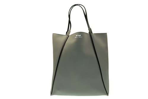 BUBBLE BRAINTROPY donna borsa shoppy grigio scuro SHPBUBCNT 025 UNICA Grigio scuro