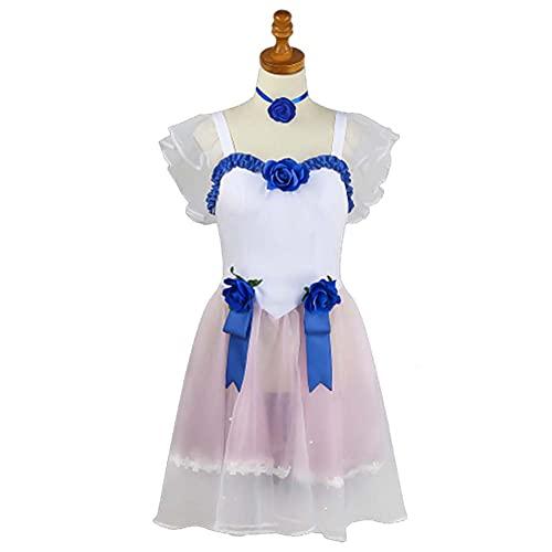 GGOODD Anime Game Identity V Disfraz de Cosplay Hong Lingyan Mujeres Azul Rosa Vestir Juego Completo Ropa de Fiesta de Navidad de Carnaval de Halloween