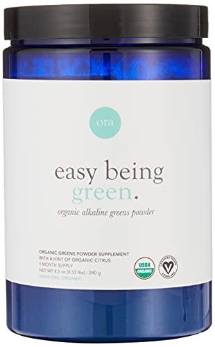 Ora Organic Greens Powder - Vegan, Gluten-Free, Organic Super Greens...