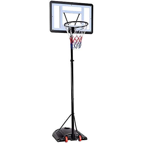 Yaheetech Panier de Basket sur Pied Exterieur Hauteur...