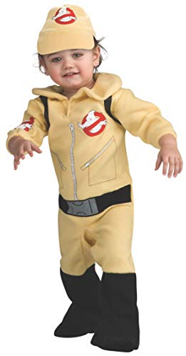 Rubie's Classic Ghostbusters Infant Costume, toddler size. One piece romper suit with attached backpack